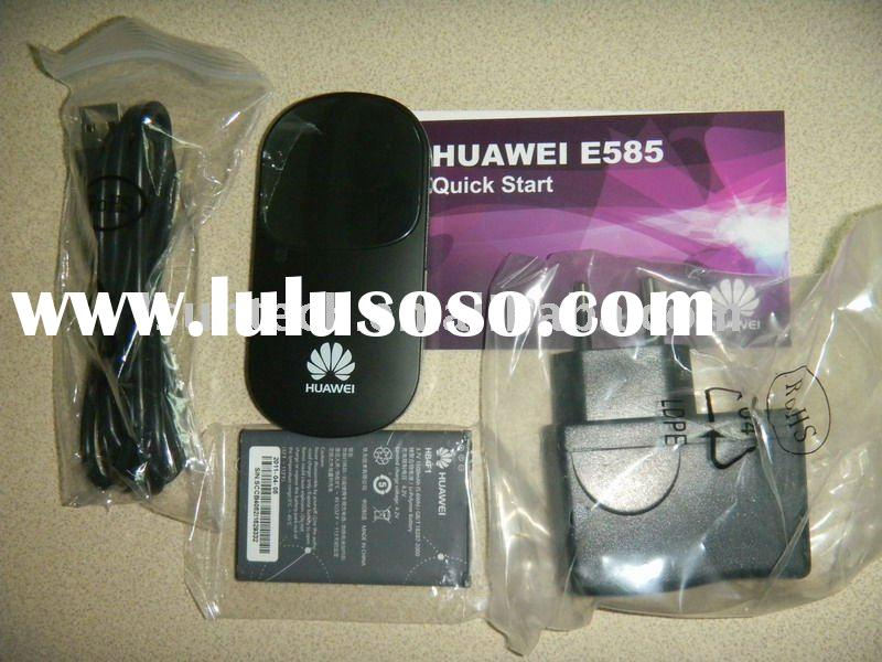 HSDPA WIFI Router modem router work on 3G 900/2100Mhz Huawei E585