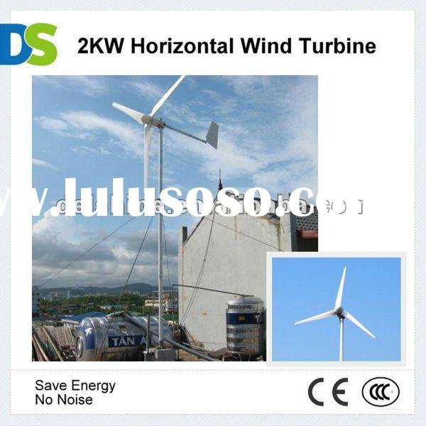 H 2kw Horizontal Mini Wind Turbine Generator