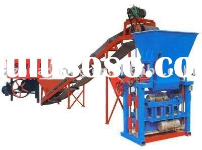 High efficiency and portable brick machine for sale