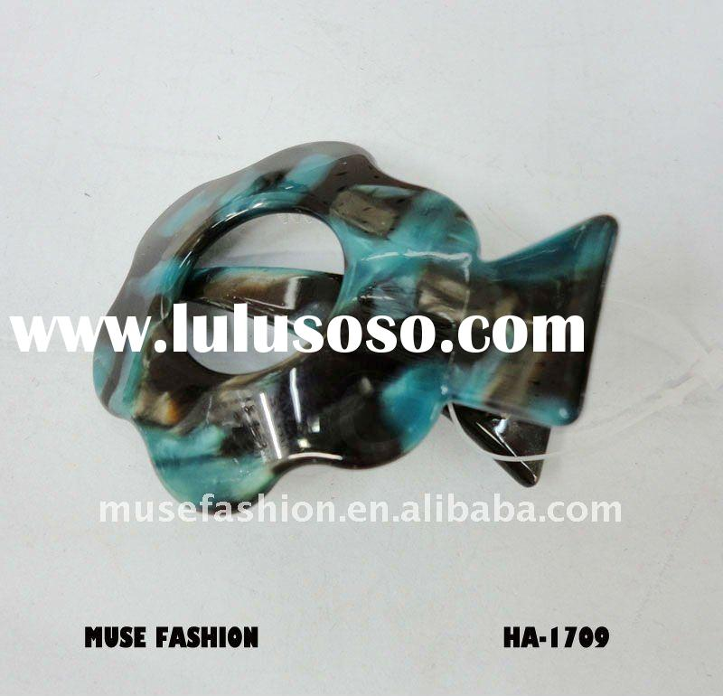 High quality turtle shell hair accessoryies in different colors