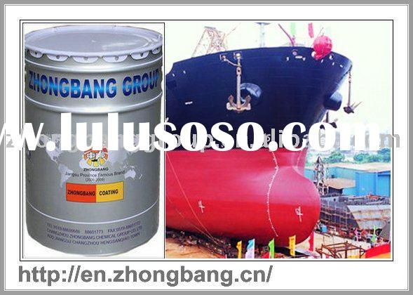 J53-21 Chlorinated Rubber Iron-red Thick Mastic Antirust Coating, rubber coating