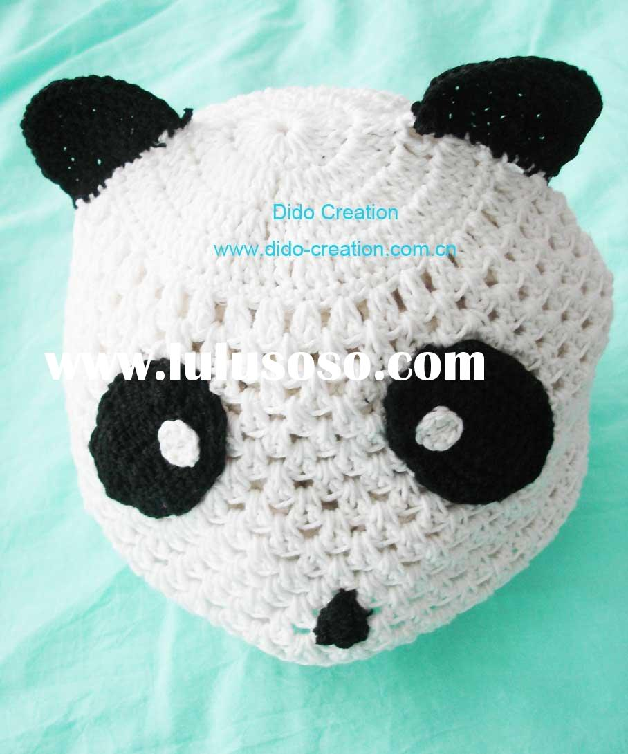 KT05019 Hand fashion Crochet Baby kufi Hats cap Beanie flower animal new born baby gifts