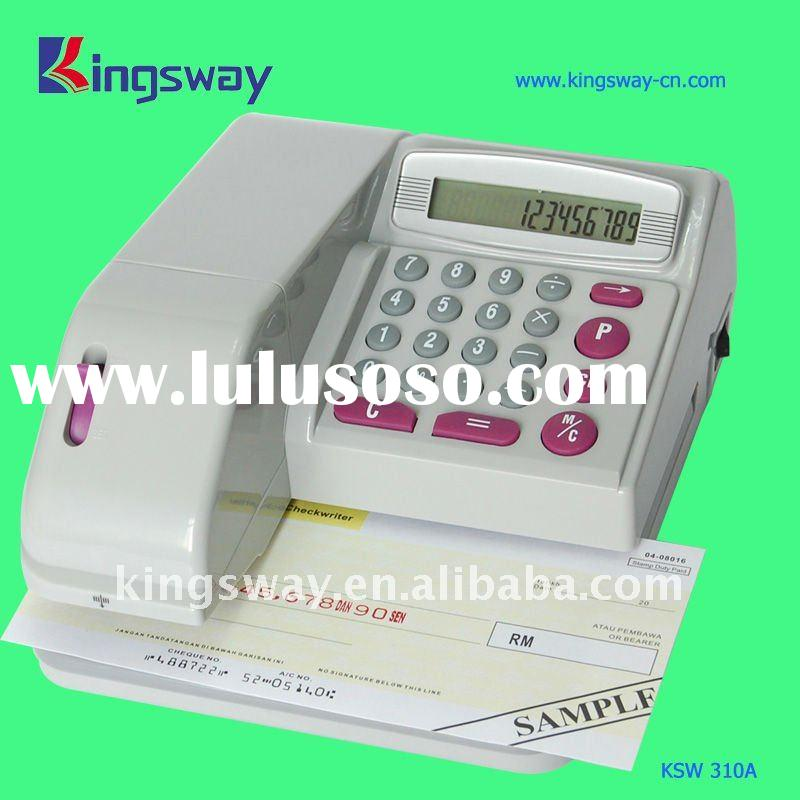 Cheque Printing Machine Nf310 Manufacturer Cheque