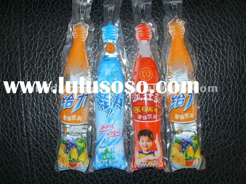 Manufacturer for bottle shape beverage pouch filling sealing packing machine
