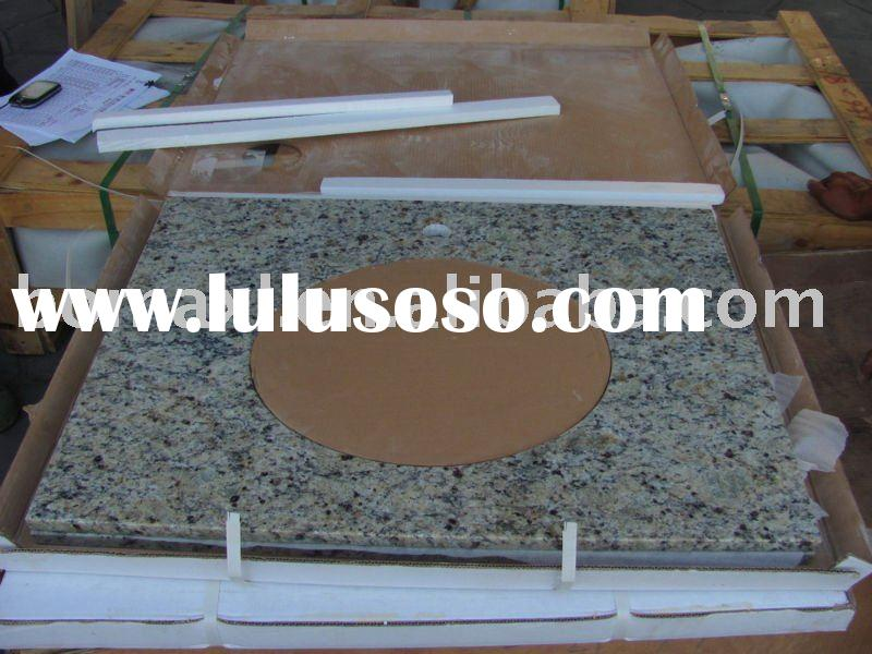 New Venetian Gold Granite Bathroom Vanity Top