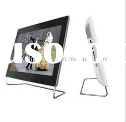 OSD botton 10.2 inch digital photo frame DPF-102C with LCD display