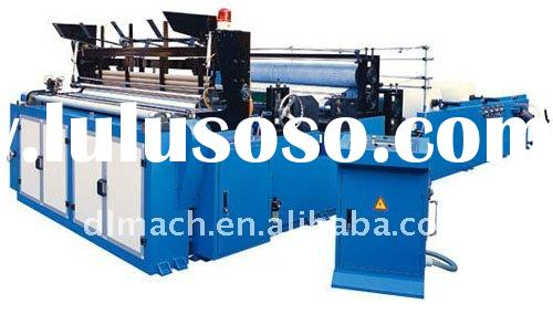 PLC Full Automatic Toilet Paper and Kitchen Towel Machine