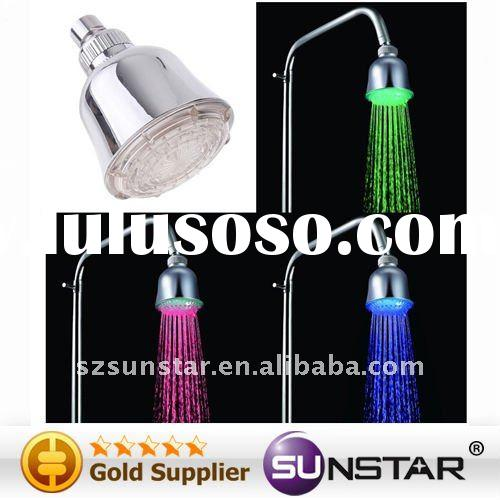 Romantic LED Shower Head Water Bathroom RGB Light