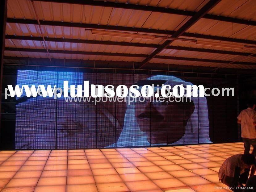 Strip Video Wall (P20-SMD)-LED Curtain