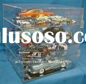 Table Top Spinner Diecast Model Car Display Case