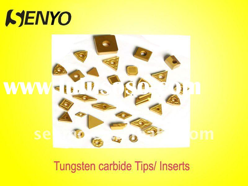 Tungsten carbide Tips / indexable and CNC tool