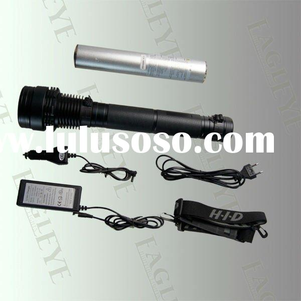 Xenon 55/38W 35/28W 24W HID Flashlight, Xenon Flashlight,Aluminium Flashlight