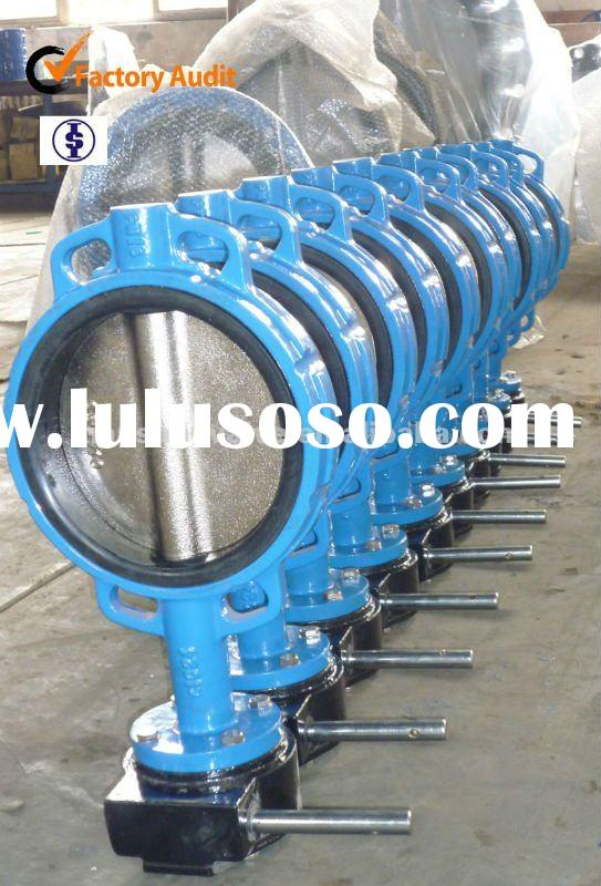 cast iron / ductile iron butterfly valve