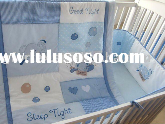 cot bedding set/cot bumper set/toddler bedding set/crib bedding set