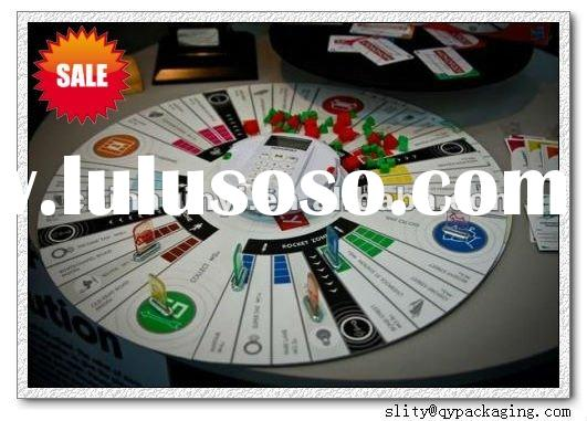 customized paper board games printing/Hot sale Intelligence Board Game