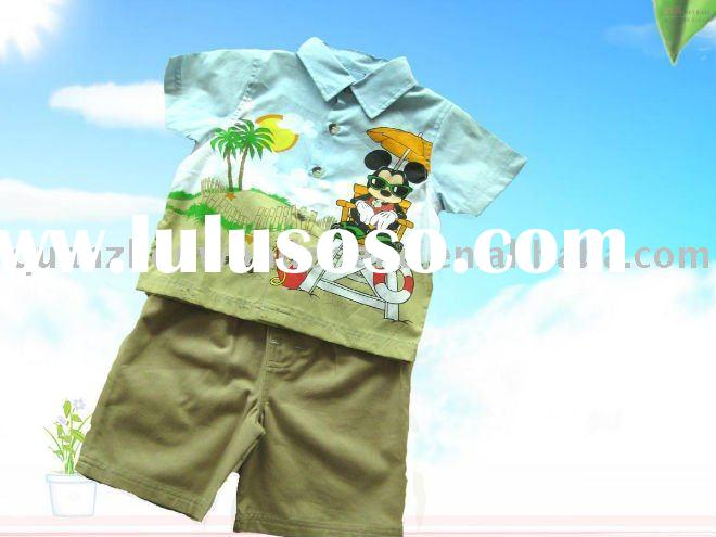 european style kids clothing, baby cloth wear