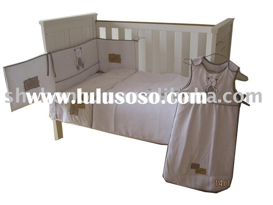 infant bedding sets/baby crib bedding set/quilt