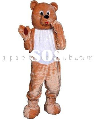 naughty bear mascot costume for party