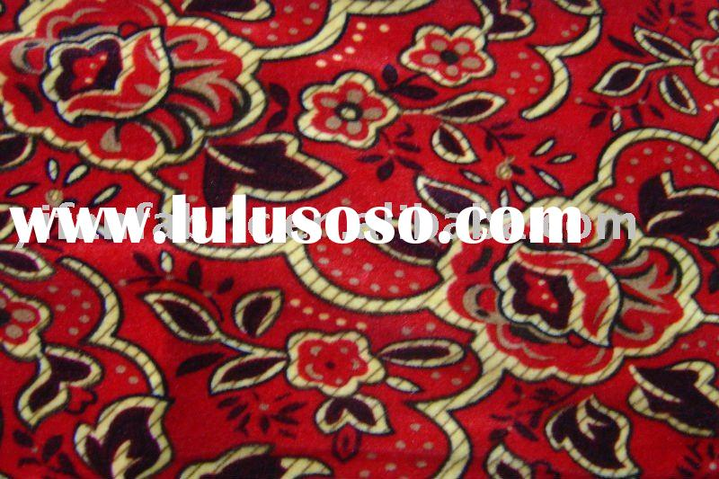 new design of 100%polyester tricot printed velvet for sofa, curtain, upholstery.