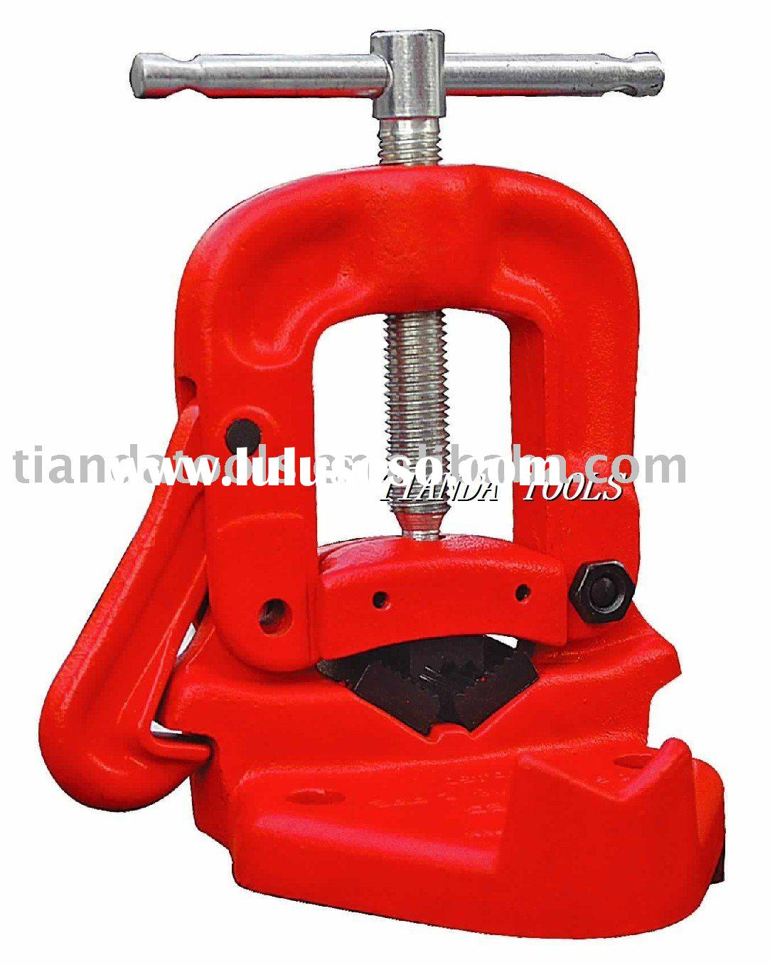 pipe vise, bench yoke vise,high quality with low price