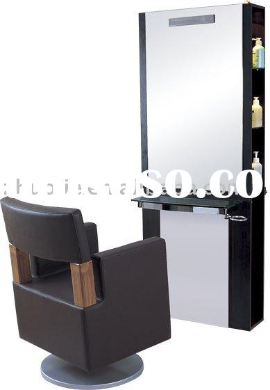 Hot Sell Function Salon Furniture Mirror Station