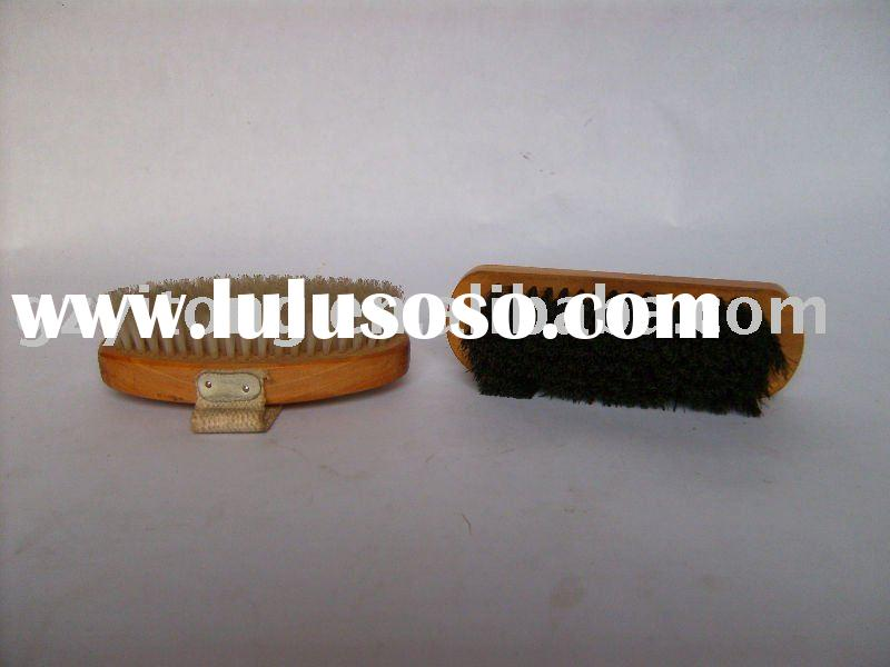 shoe brush,wooden shoes brush
