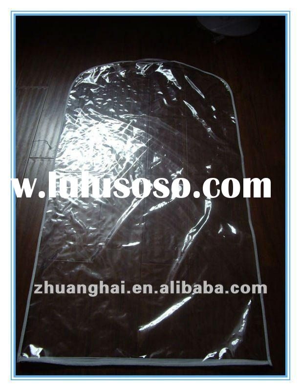 trancparent/ clear PVC garment bags/ suit covers