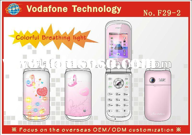 with LED light mobile phone