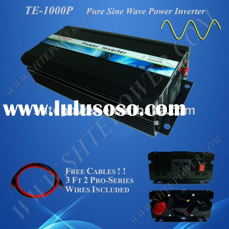 1000W DC to AC Pure Sine Wave Power Inverter 12v 220v