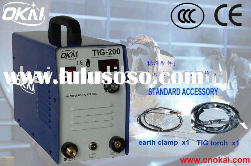 110/220V portable inverter DC TIG welding machine at 200A