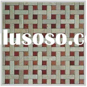 15x15/15x45 Antique & Classic Slate Mosaic/Stone Mosaic/Marble Mosaic CF026 For Wall & Floor