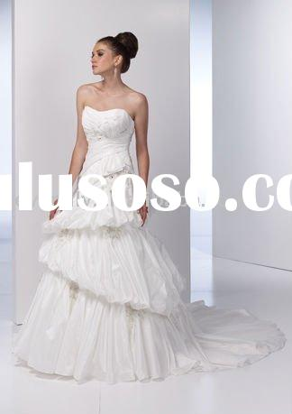 2011 Best Selling Ball gown rhinestone Wedding Dresses