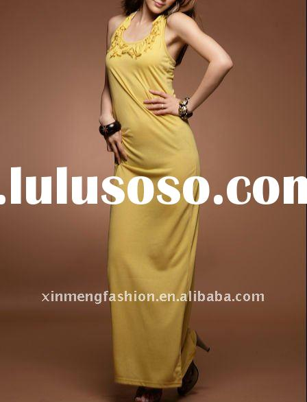 2011 new fashion long dresses for women