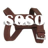 2012 designer leather dog weight harness