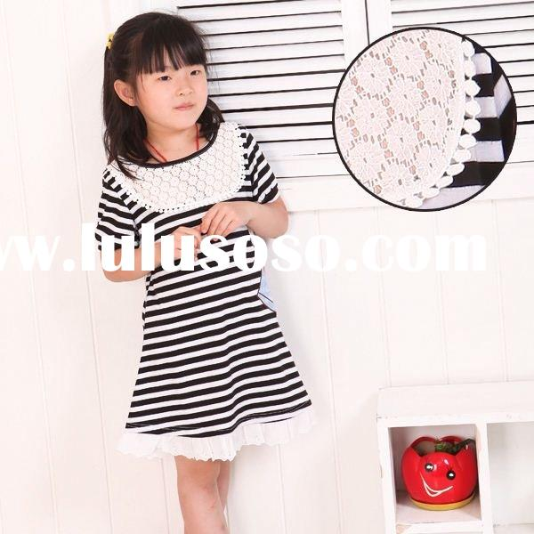 2012 new design lovely girls' dresses&T-shirts for summer kids clothing children wear