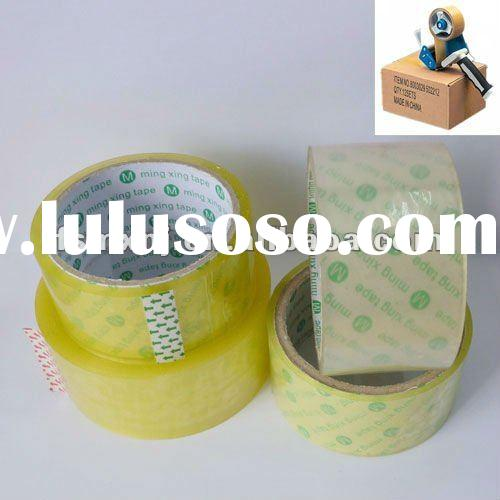29.5mm Transparent water based acrylic BOPP tape manufacturer (SGS)
