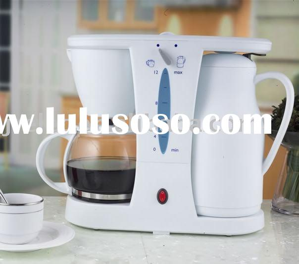 2 In 1 Coffee Maker With Thermal Pot/Electric Kettle/Coffee Maker