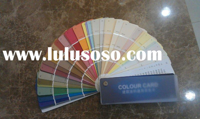 300 concrete coating/paint color shade card