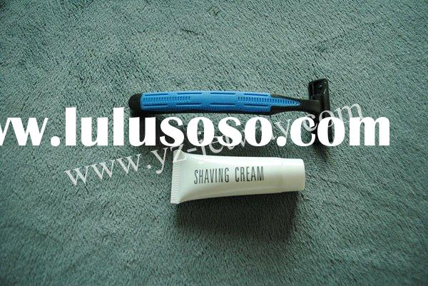 3-5 Star Hotel Shaving Kit With Shaving Cream