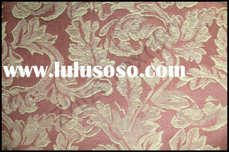 50% polyester 50% cotton Asian antique upholstery fabric textile cotton