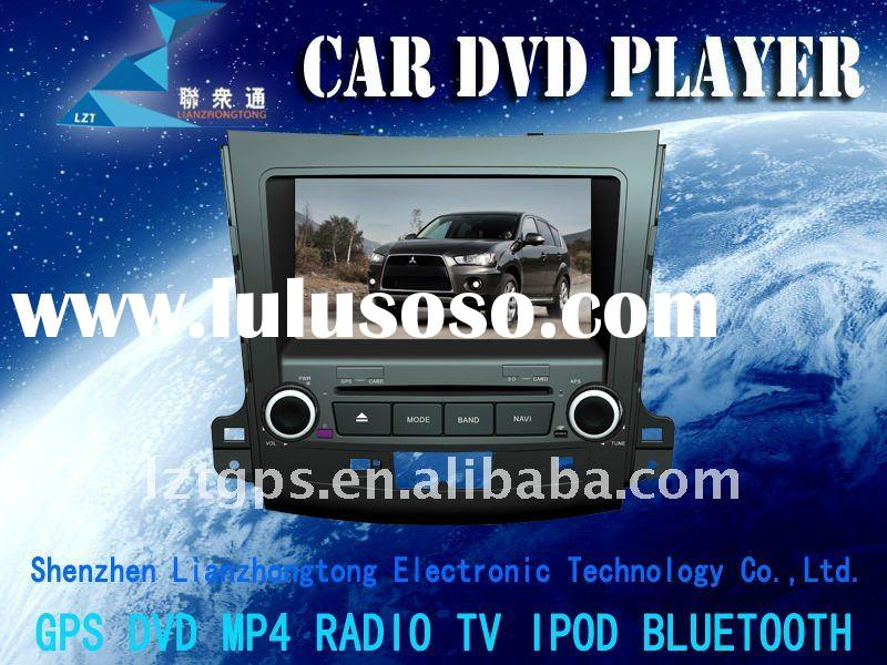 7 inch HD digital screen car DVD player with 3D user interface(like iphone) for Mitsubishi Outlander