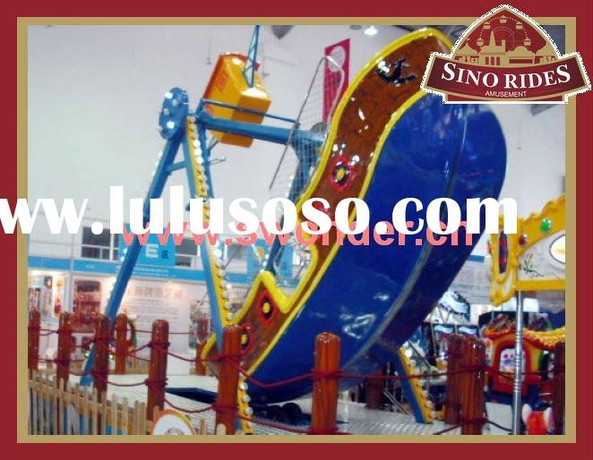 Attractive amusement park rides equipment pirate ship for sale