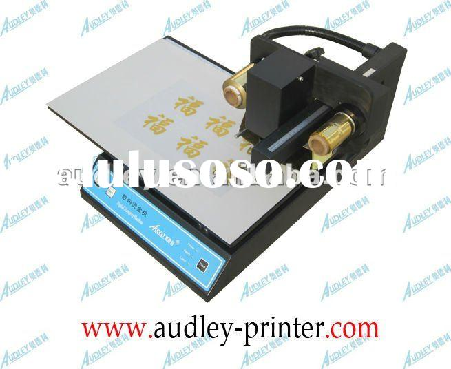 Audley business card printing machine 3050A