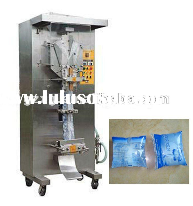 Automatic mineral water pouch packing machine(500-1000 ml)