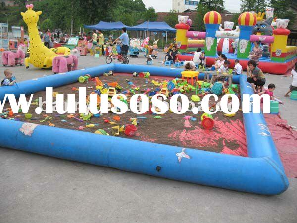 BY12 funny inflatable kids play sand pool