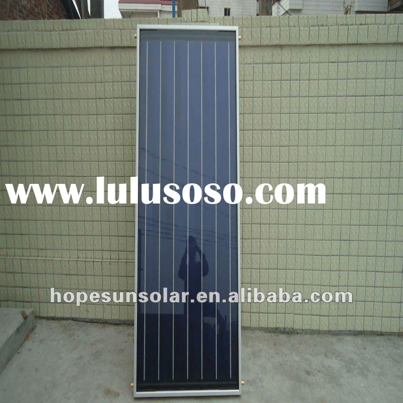 Balcony wall of High efficiency absorption Pressurized solar system of Blue titanium homemade solar
