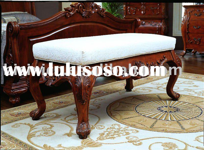 Bed bench,American bedroom sets,solid wood bedroom furniture