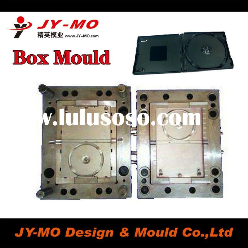 CD storage box mould,CD/DVD cover case mould in China