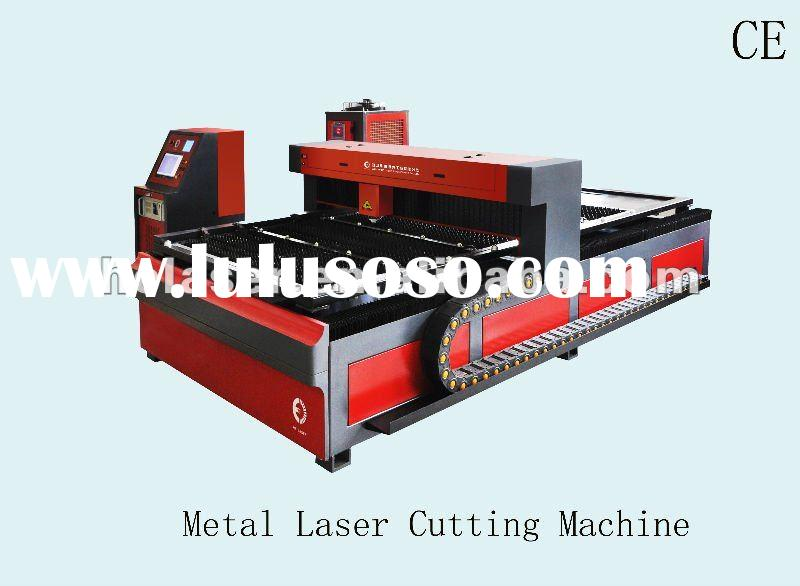 CNC Sheet Metal Laser Cutting Machine With CE Certificate