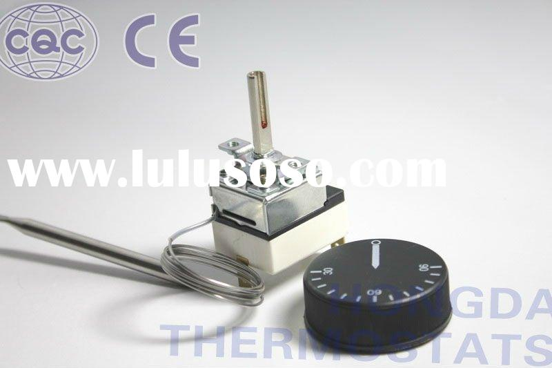 Capillary thermostat for water heater and deep friers,equivalent to ego